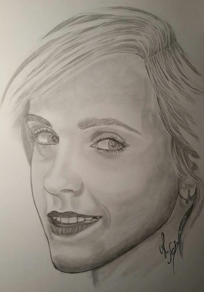 Emma Watson by jocker